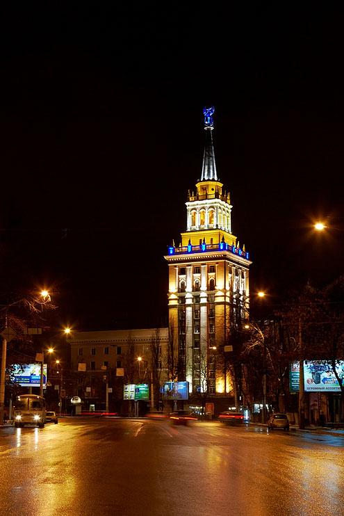 Башня на Кольцовской