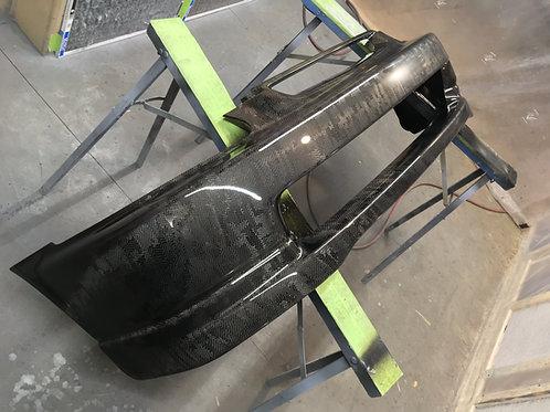 civic 96-98 carbon bumper