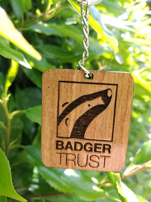 Badger Trust Keyring