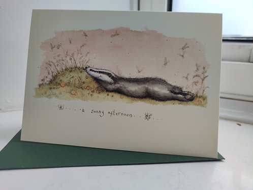 A Sunny Afternoon Greeting Card