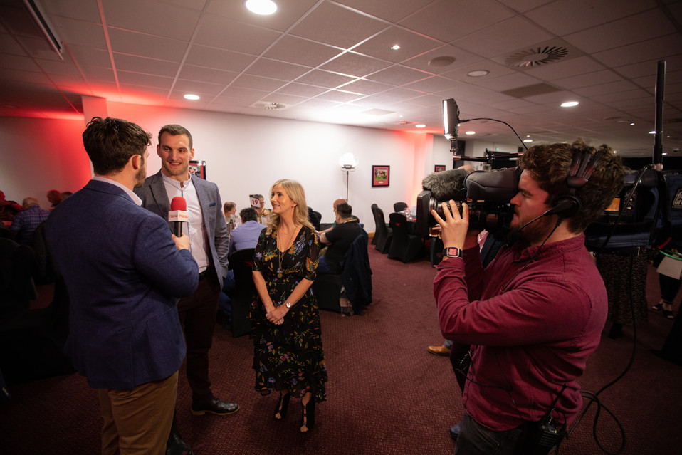 Heno S4C 218 Events Sam Warburton Eleri