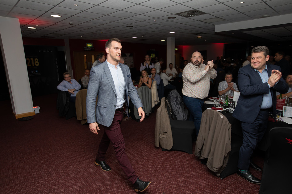 Welcome Sam Warburton 218 Events PArc y