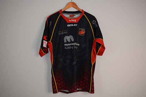 Signed Dragons Rugby 2019 Shirt