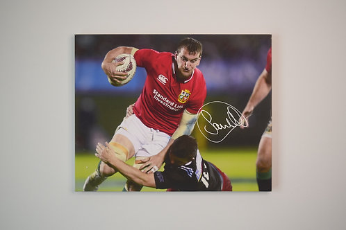 Sam Warburton Signed Canvas