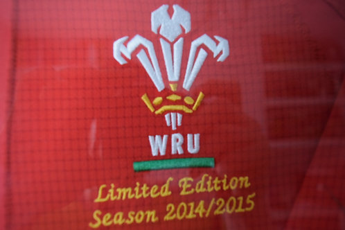 Signed Limited Edition 2014/15 Wales Rugby Shirt