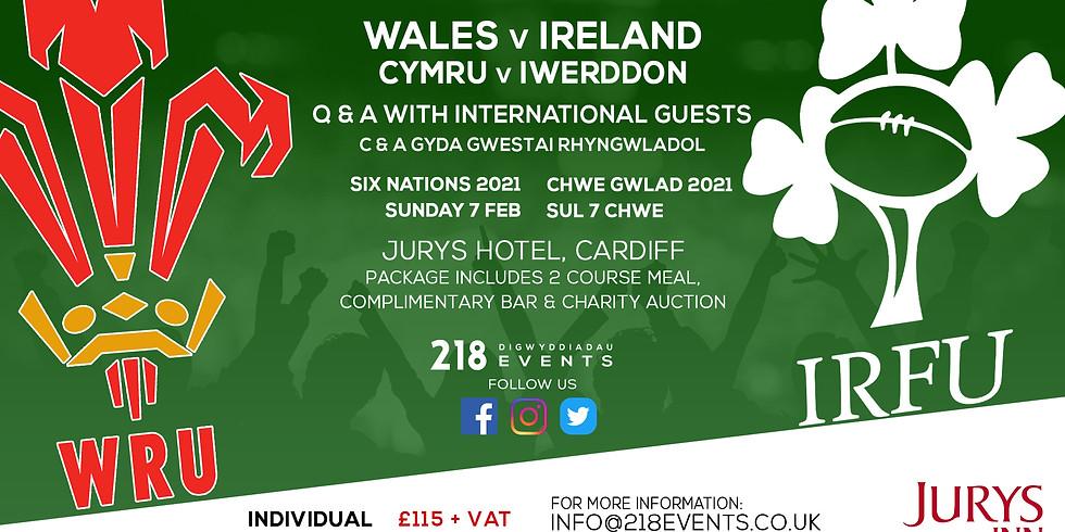 Wales v Ireland - Six Nations 2021