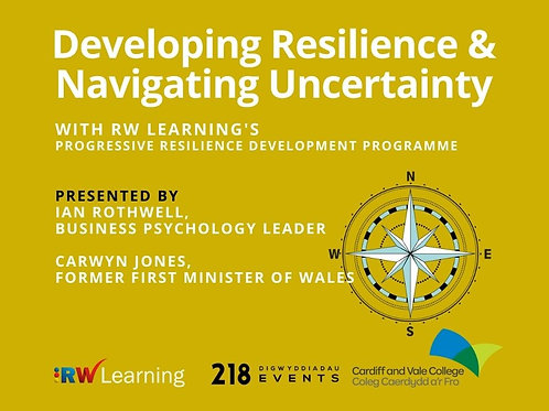 1) Developing Resilience & Navigating Through Uncertainty