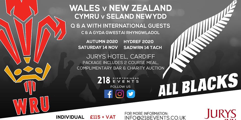 Wales v New Zealand - Autumn Series