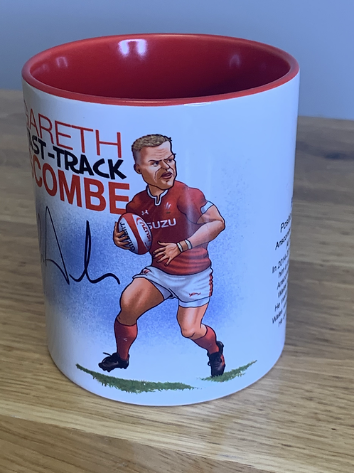 Signed Gareth Anscombe Mugby