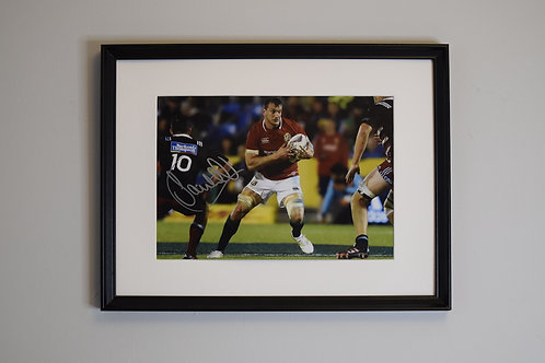 Sam Warburton Signed Photo