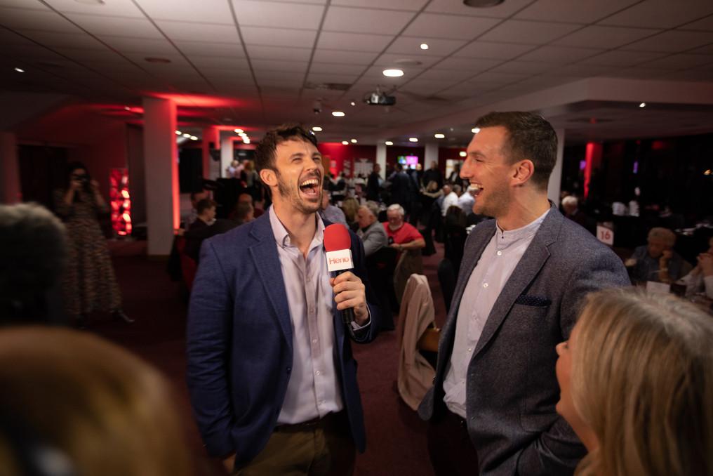 Owain Gwynedd laughing Sam Warburton 218