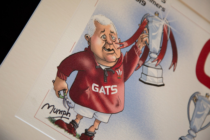 Warren Gatland Mumph Cartoon 218 Events