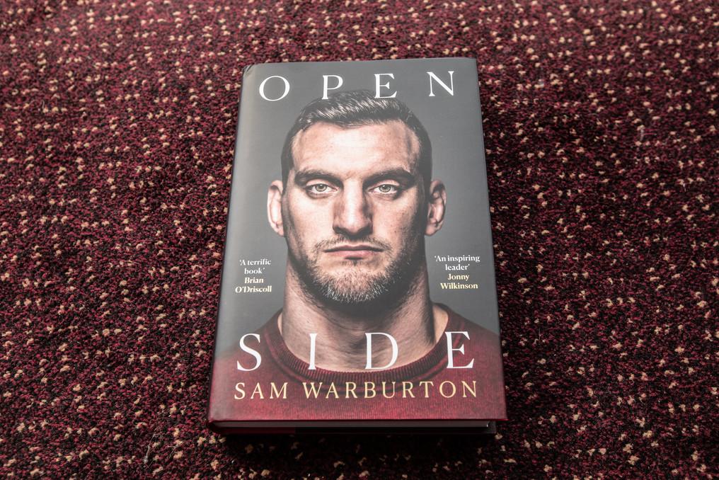 Sam Warbuerton book 218 Events raffle pr