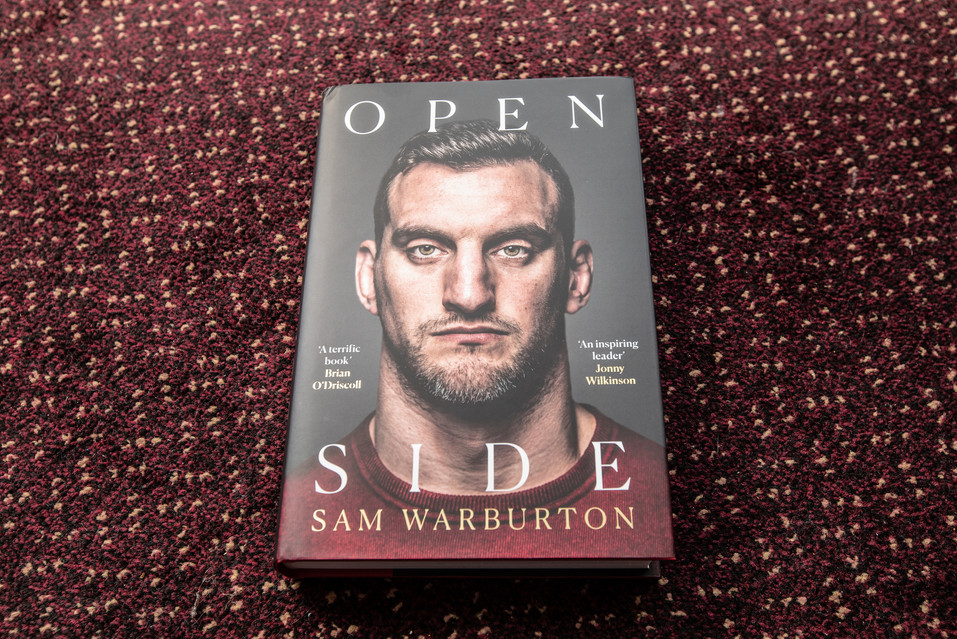Sam Warbuerton book 218 Events raffle pr