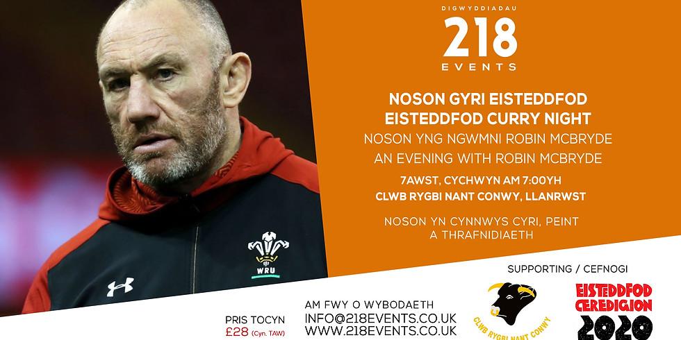 Noson Gyri Eisteddfod / Eisteddfod Curry Night