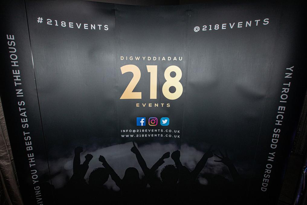 218 Events wall Wales v Italy Jurys Card