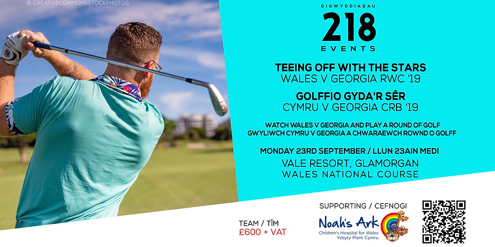 Rugby World Cup Golf Day - Wales v Georgia