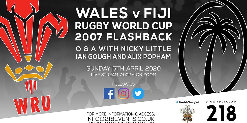 Wales v Fiji RWC 2007 Flashback