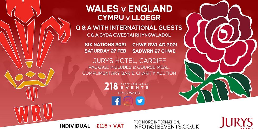 Wales v England - Six Nations 2021