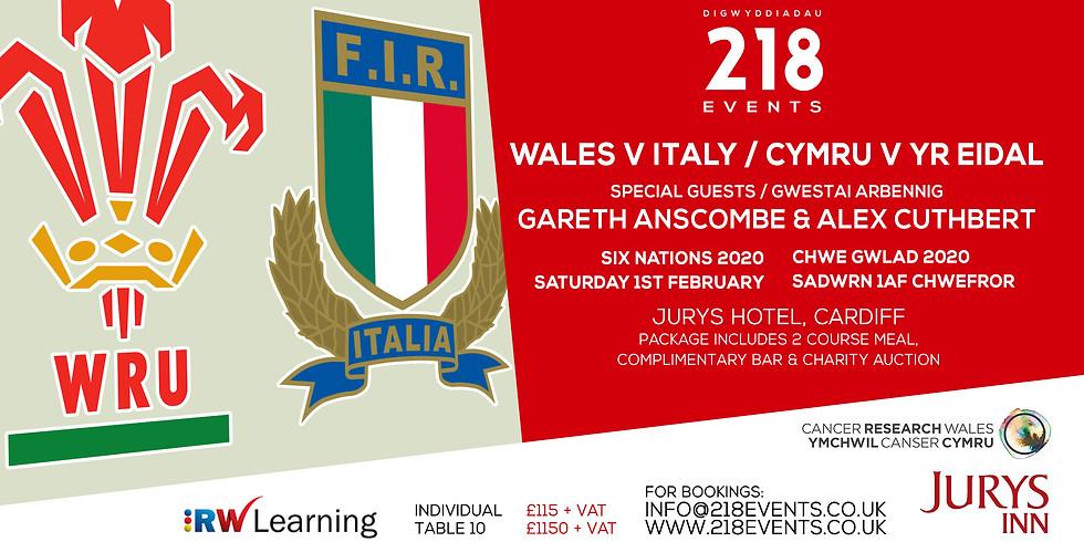 Six Nations 2020 - Wales v Italy