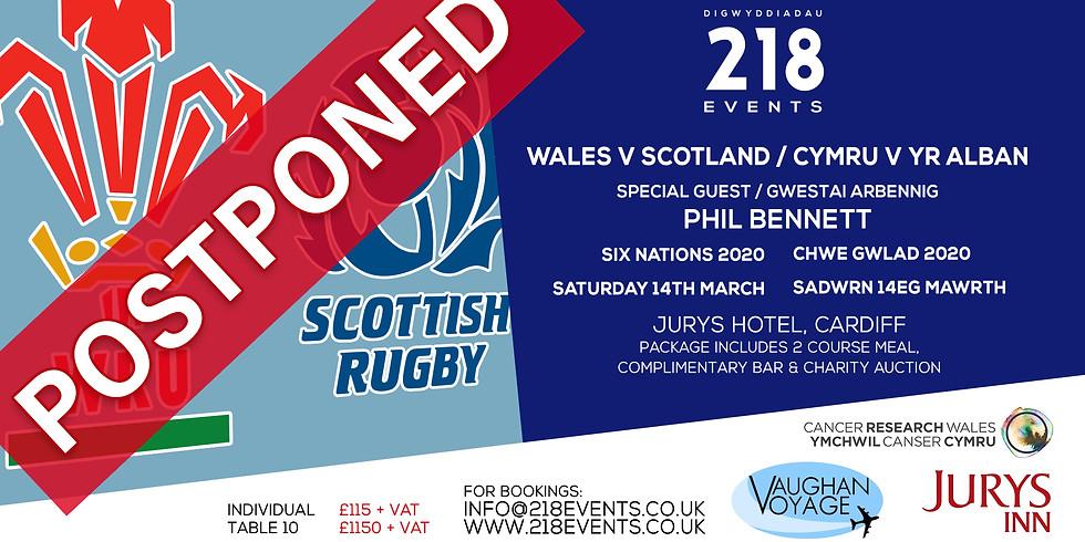 Six Nations 2020   Wales v Scotland