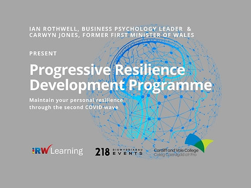 RW Learning's 'Progressive Resilience Programme'