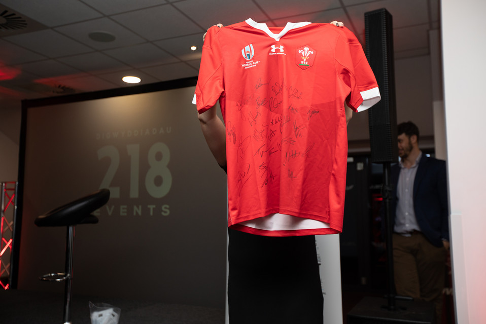 218 Events Wales World Cup 2019 signed a