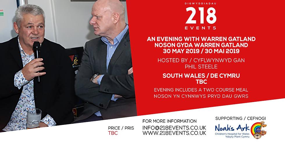 Evening with / Noson Gyda Warren Gatalnd & Phil Steele