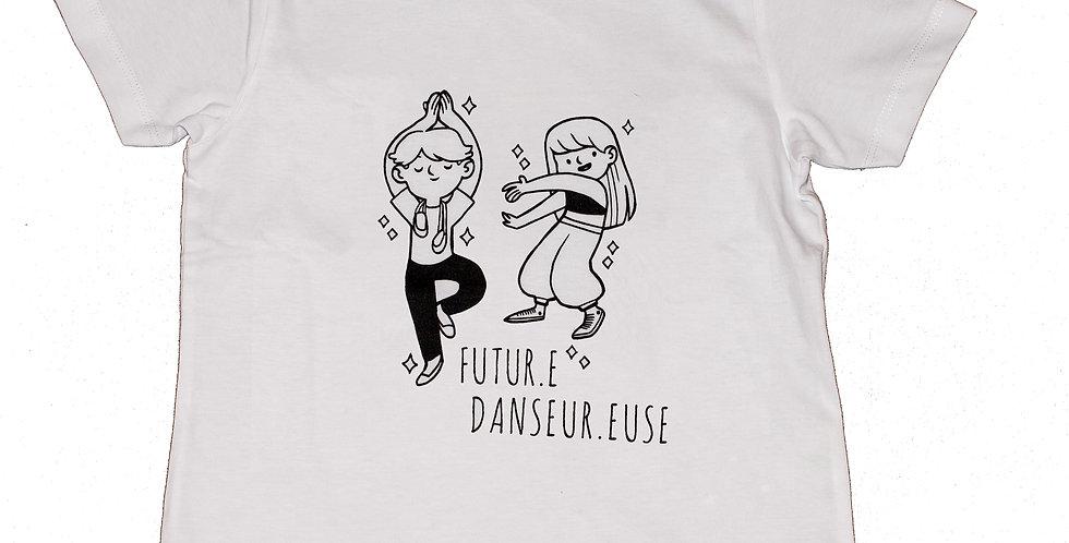 Kit t-shirt danseur.euse + 4 felt tip pens Omy