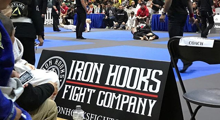 Iron Hooks on the mats _dreambjj!!! OSS!