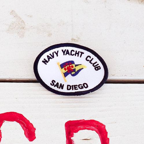 Navy Yacht Club San Diego Jacket Patch