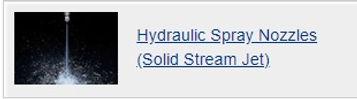 Hydraulic spray nozzles(Solid stream).jp