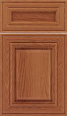 Regency 5 piece Raised Panel Cabinet Door Spice