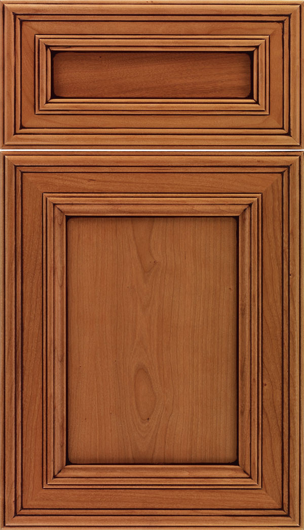 Chatham 5 piece Recessed Panel Cabinet Ginger Mocha