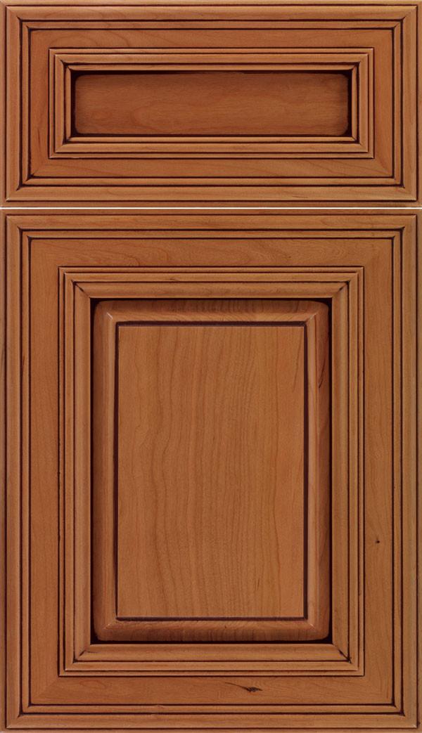 Chamberlain 5 piece Raised Panel Cabinet Ginger Mocha