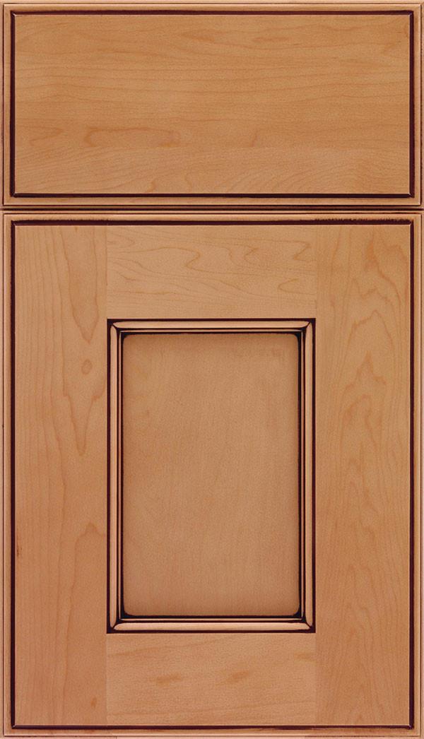 Berkeley Flat Panel Cabinet Door Ginger Mocha