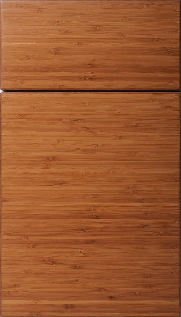 Summit Horizontal Slab Cabinet Door Natural