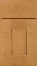 Newhaven Shaker Cabinet Door Ginger Mocha