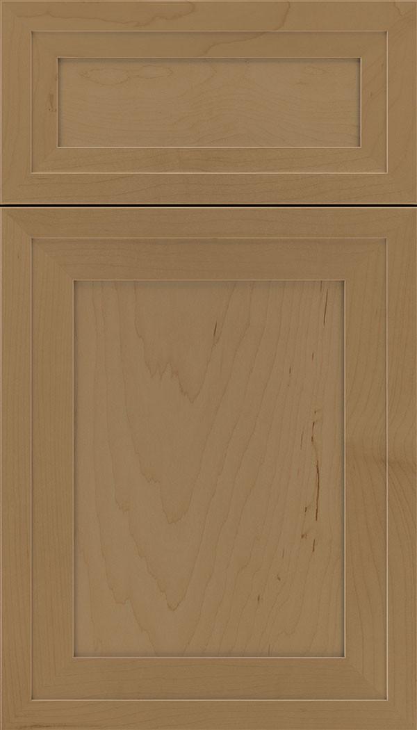 Asher 5 piece Maple Flat Panel Cabinet Door Tuscan