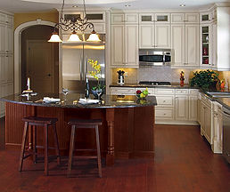 painted_maple_cabinets_with_cherry_kitch
