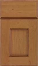 Berkeley Cherry Flat Panel Cabinet Door Ginger Mocha