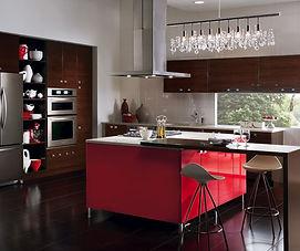 european_style_kitchen_with_red_kitchen_