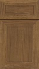 Asher 5 piece Rift Flat Panel Cabinet Door Tuscan