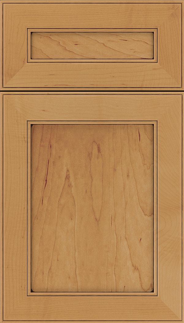 Chelsea 5 piece Flat Panel Cabinet Door Ginger Mocha
