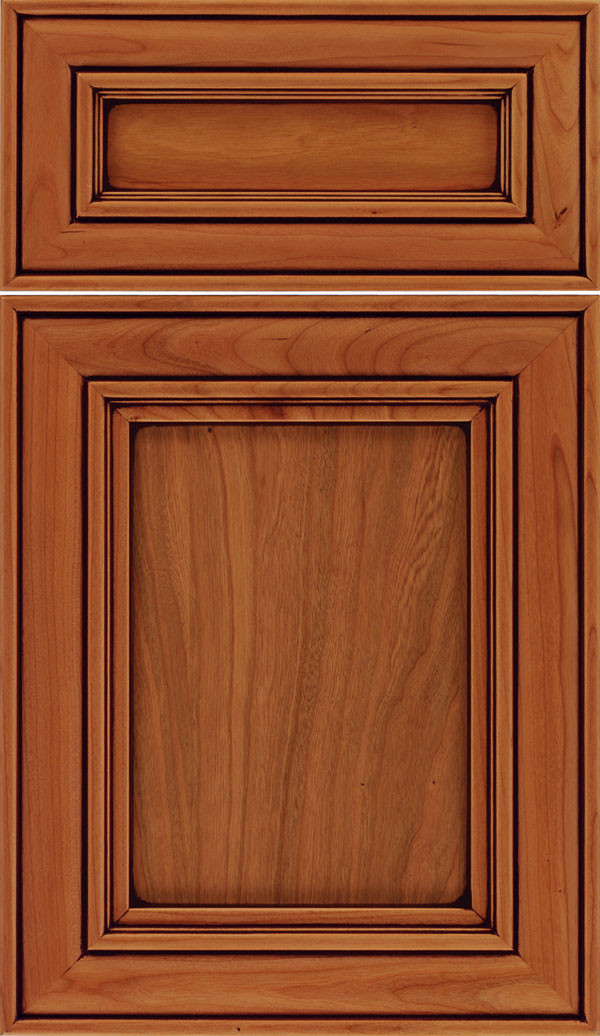 Sheffield 5 piece Recessed Panel Cabinet Ginger Mocha