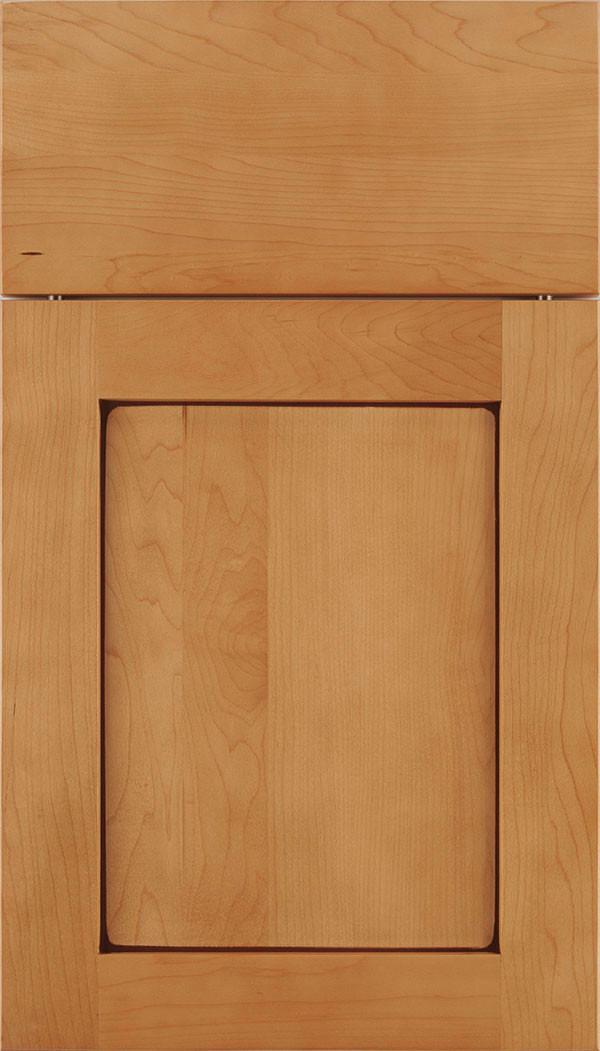 Plymouth Shaker Cabinet Door Ginger Mocha