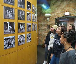 Cornel Exhibit with Students.jpg
