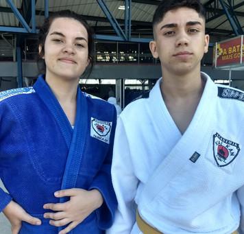 Judocas Francanos na fase final do Campeonato Paulista Aspirante