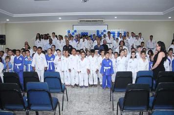 Cerimônia de Outorga de Faixas da Associação Kiai-Kan de Judô