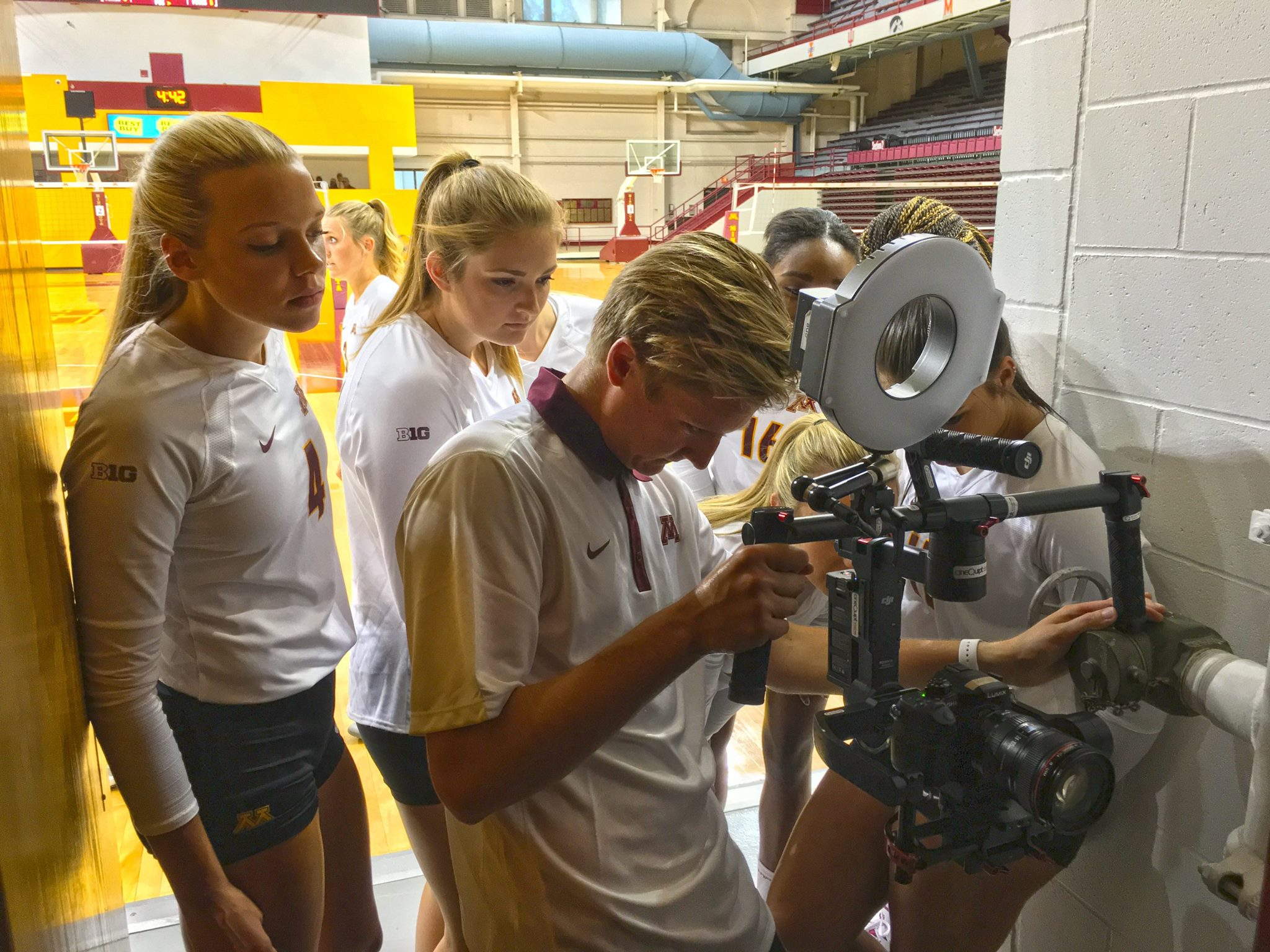 Volleyball Video Shoot